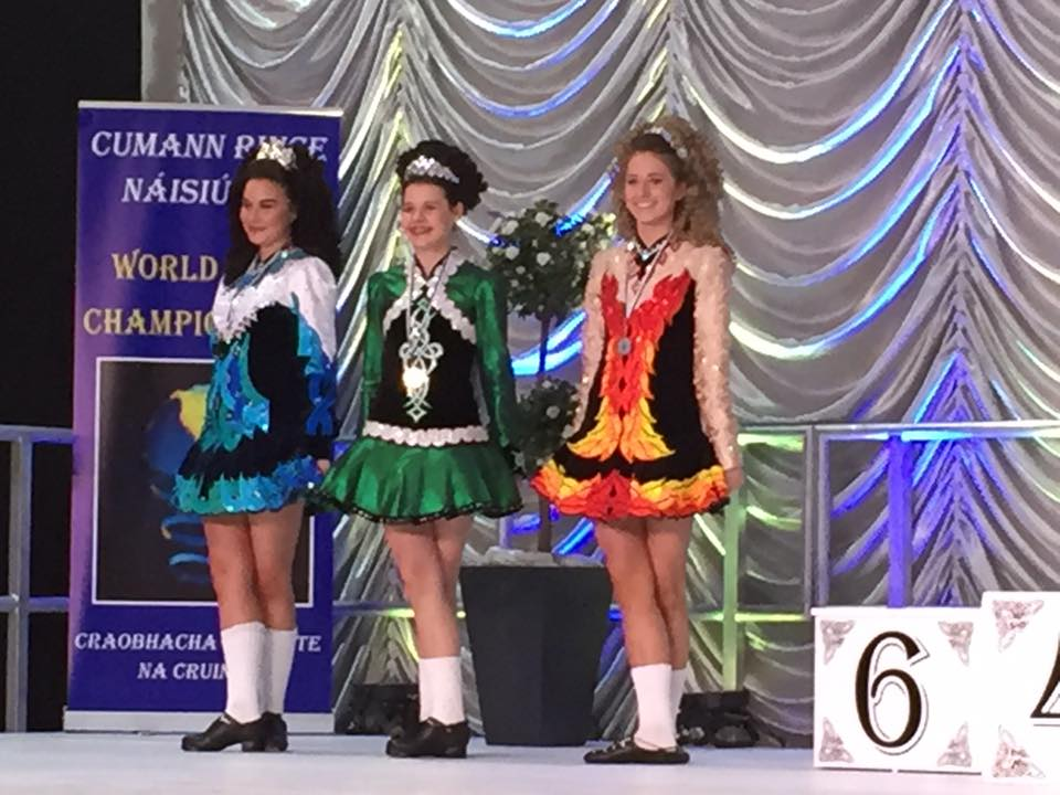 Irelandrose Langer wins 10th place at the World Irish Dance Championships