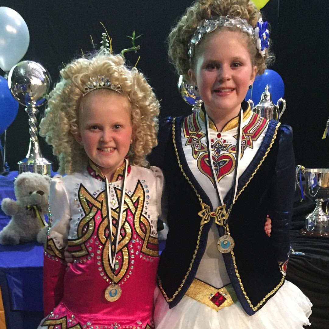 Simpson sisters both place in the top 10 at the World Irish Dance Championships