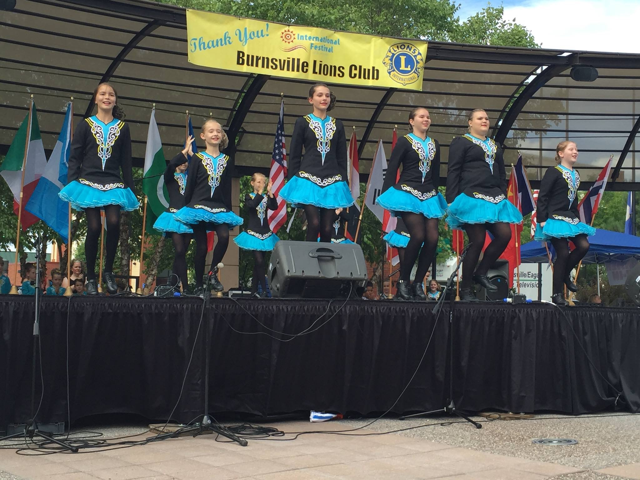 Rince Nua performs at International Festival
