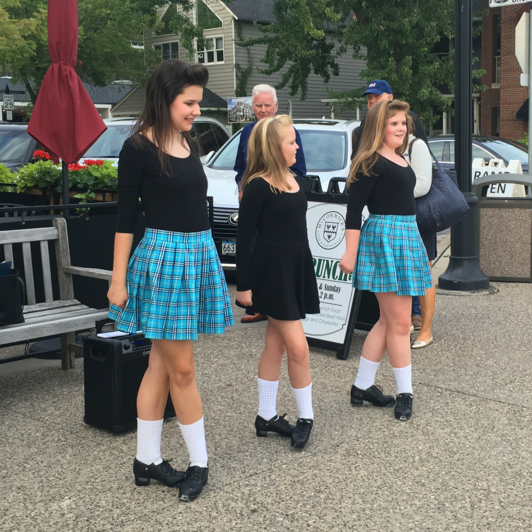 Rince Nua dancers help to keep the Irish Fair of Minnesota free