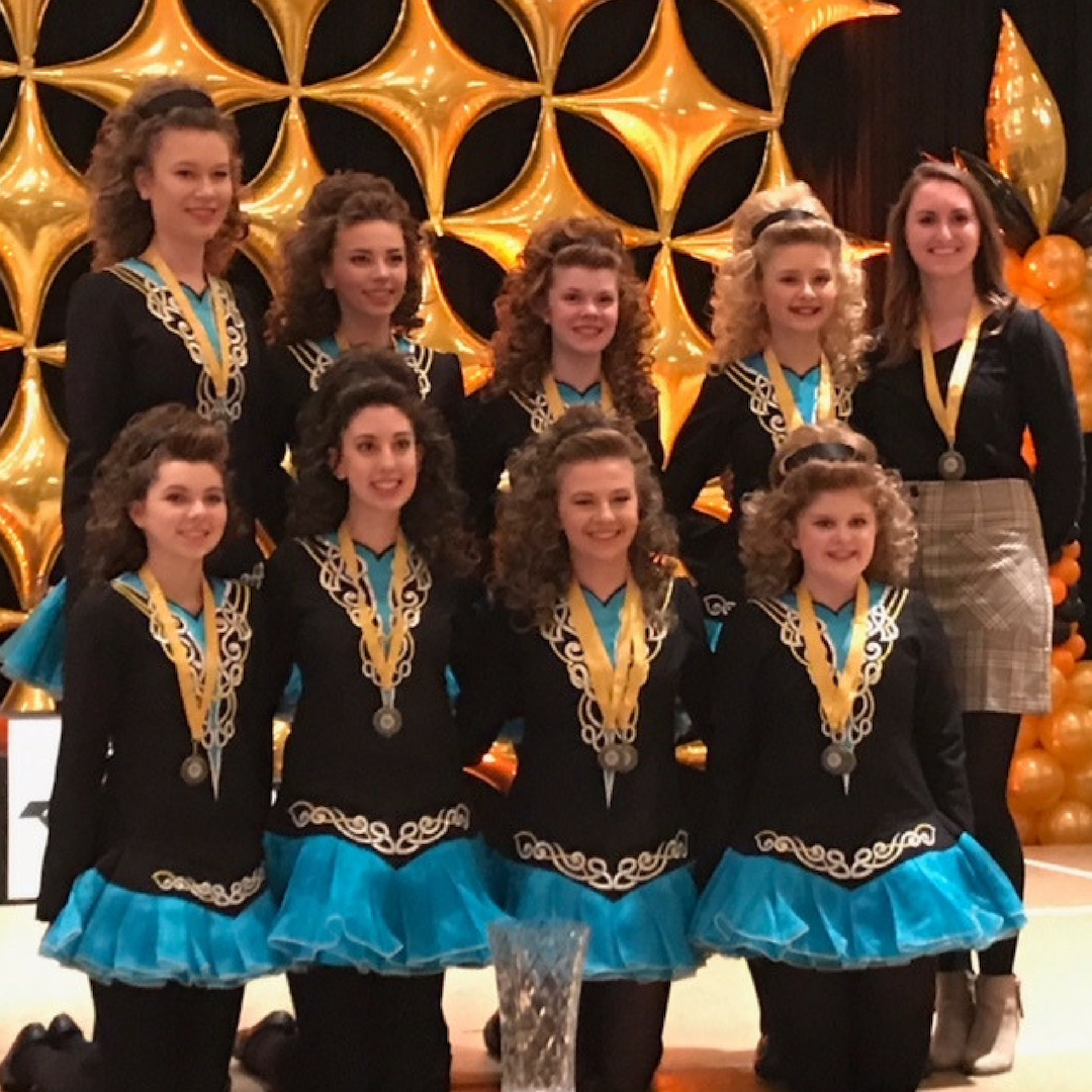 Rince Nua teams sweep three first place titles at Regional Championships