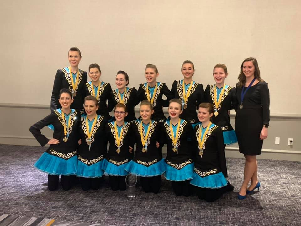 Maple Grove's Rince Nua Irish Dance Team Awarded National Title