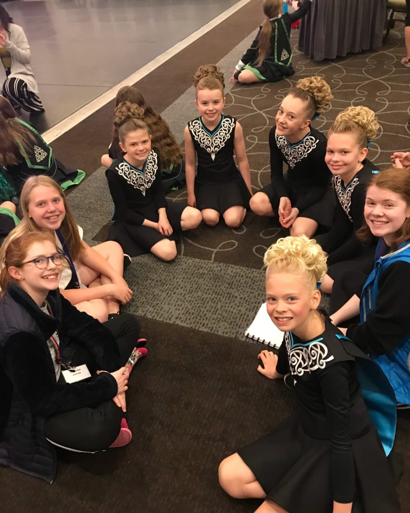 Rince Nua Dancers Compete at International Event